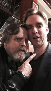 Mark with Mark Hamill