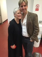 Mark With Glenn Close